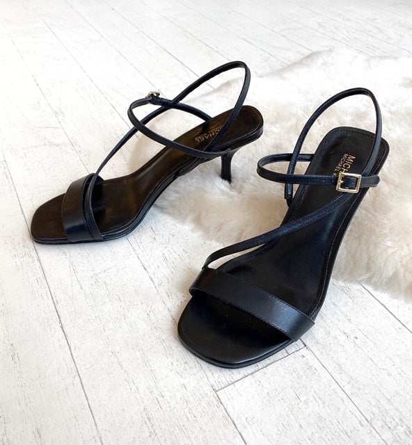 MICHAEL KORS - TASHA SANDAL IN BLACK