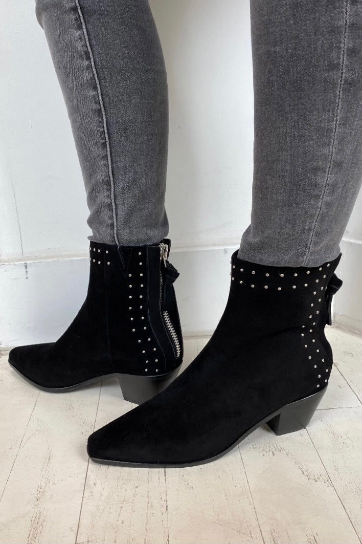 SOL SANA - WOODIE BOOT IN BLACK STUD