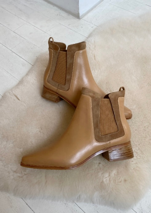 SOL SANA - WAVERLY BOOT IN CARAMEL