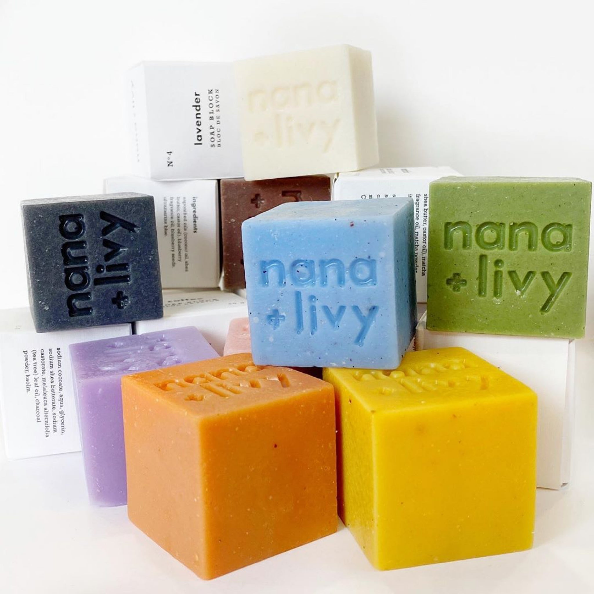 NANA + LIVY - MIX & MATCH SOAP BLOCK MINI GIFT SET