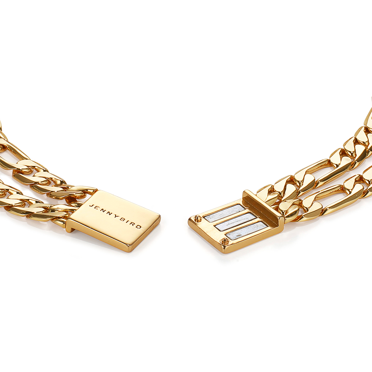 JENNY BIRD - DOUBLE CARTER CHOKER IN GOLD