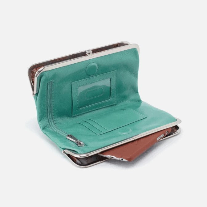 HOBO - LAUREN WALLET IN SEAFOAM
