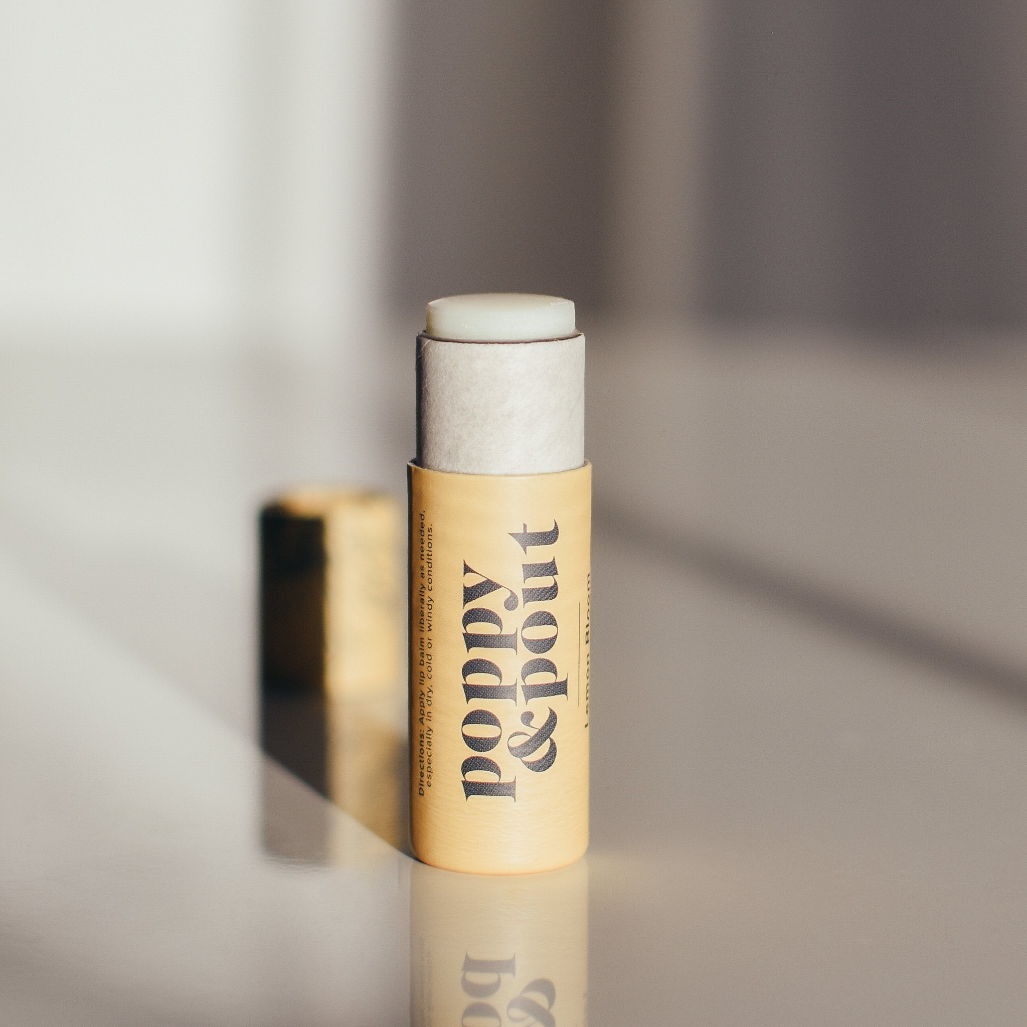 POPPY & POUT - LEMON BLOOM LIP BALM