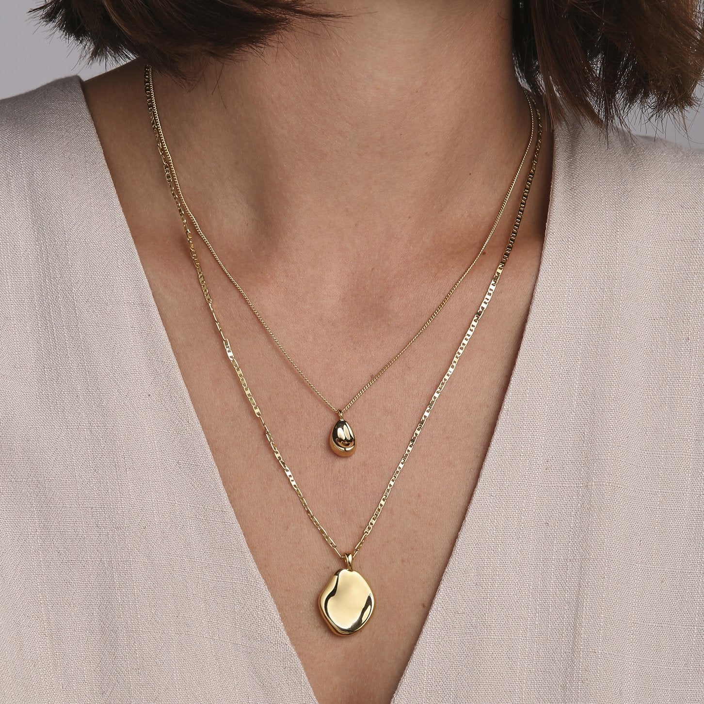 JENNY BIRD - MITHRAS NECKLACE IN GOLD