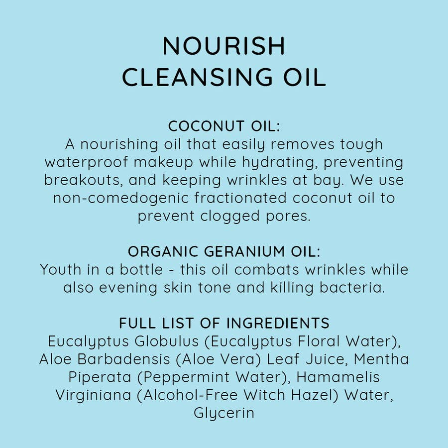 NIU BODY - NOURISH CLEANSING OIL - NORMAL/DRY SKIN