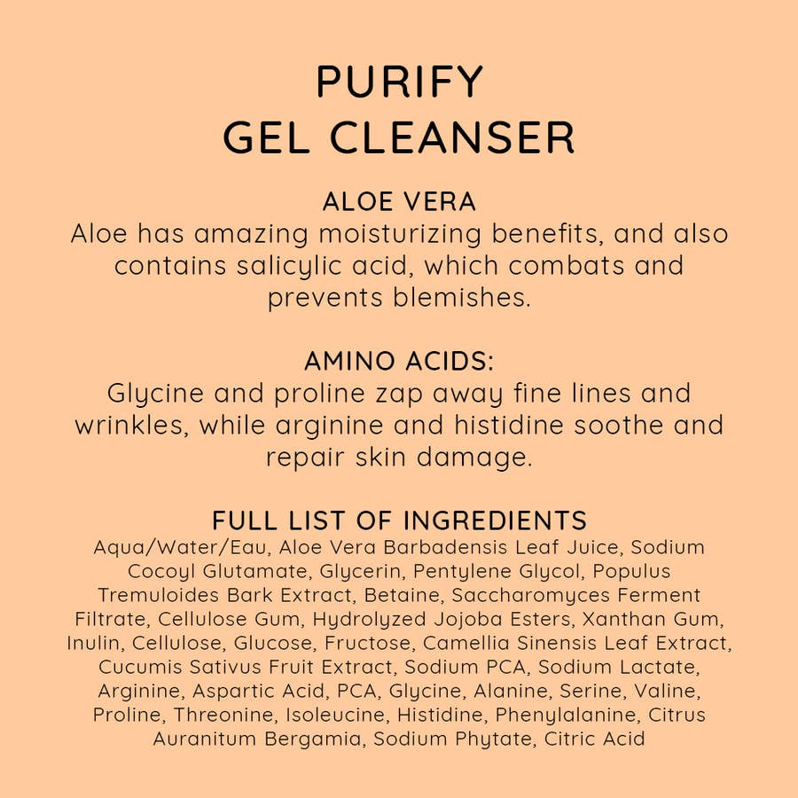 NIU BODY - PURIFY GEL CLEANSER