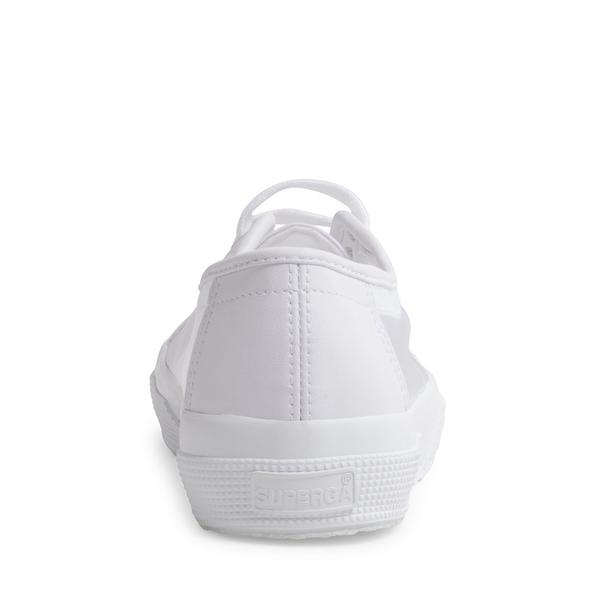 SUPERGA - 2750 WHITE/TRANSPARENT