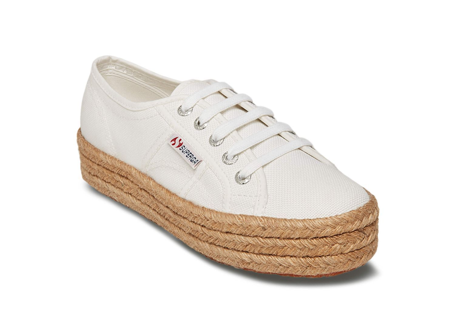 SUPERGA - 2730 IN WHITE/ROPE