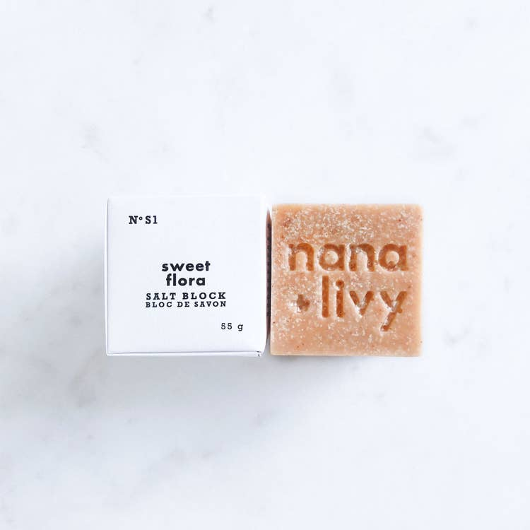 NANA + LIVY - SWEET FLORA SALT BLOCK