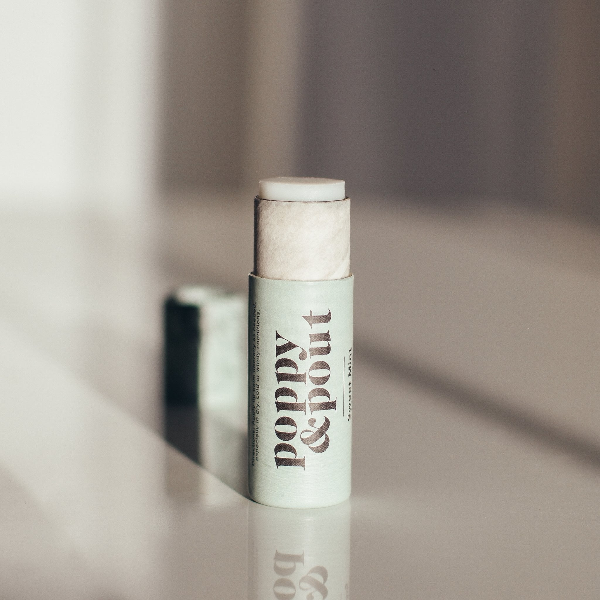 POPPY & POUT - SWEET MINT LIP BALM