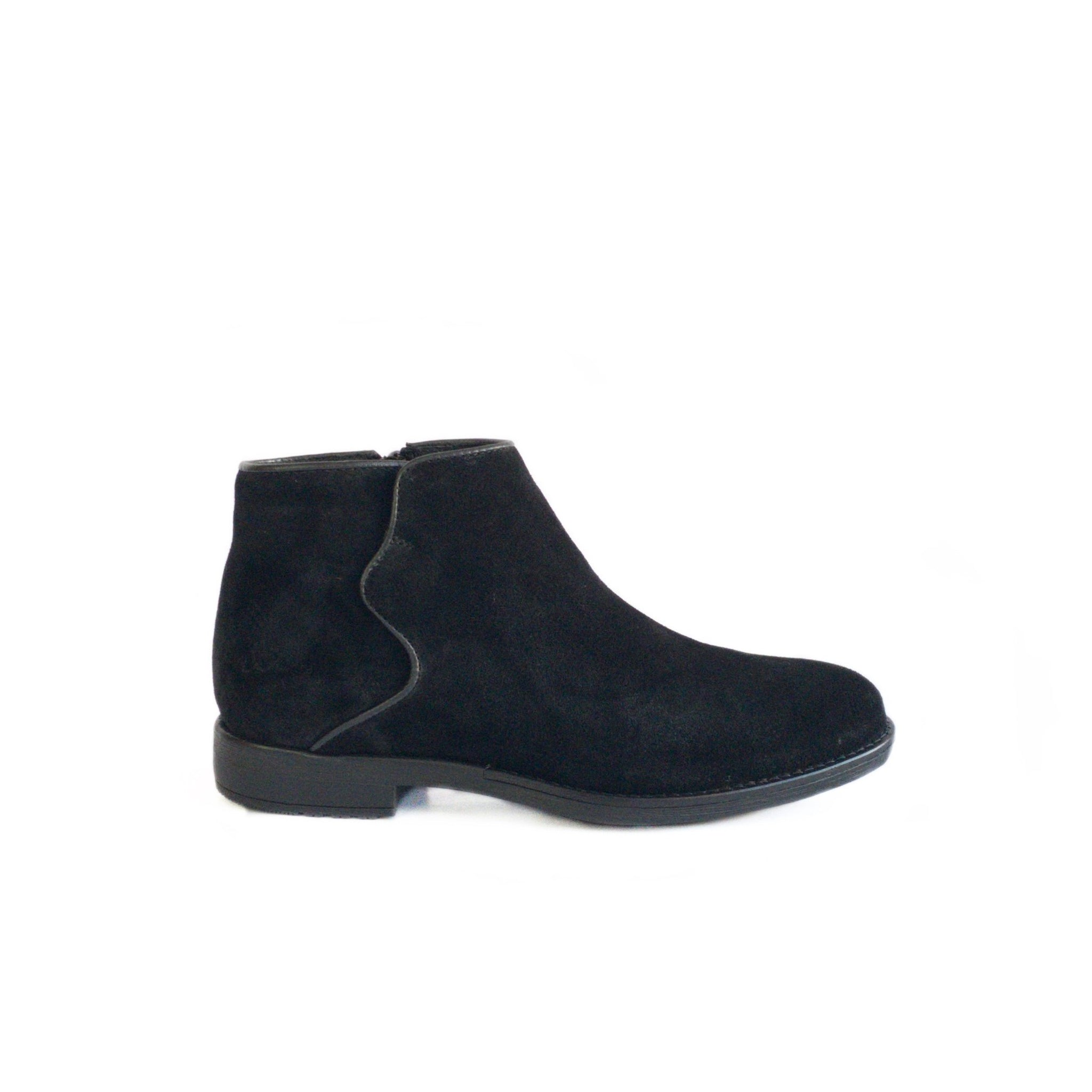 BOS & CO - RURAL IN BLACK SUEDE
