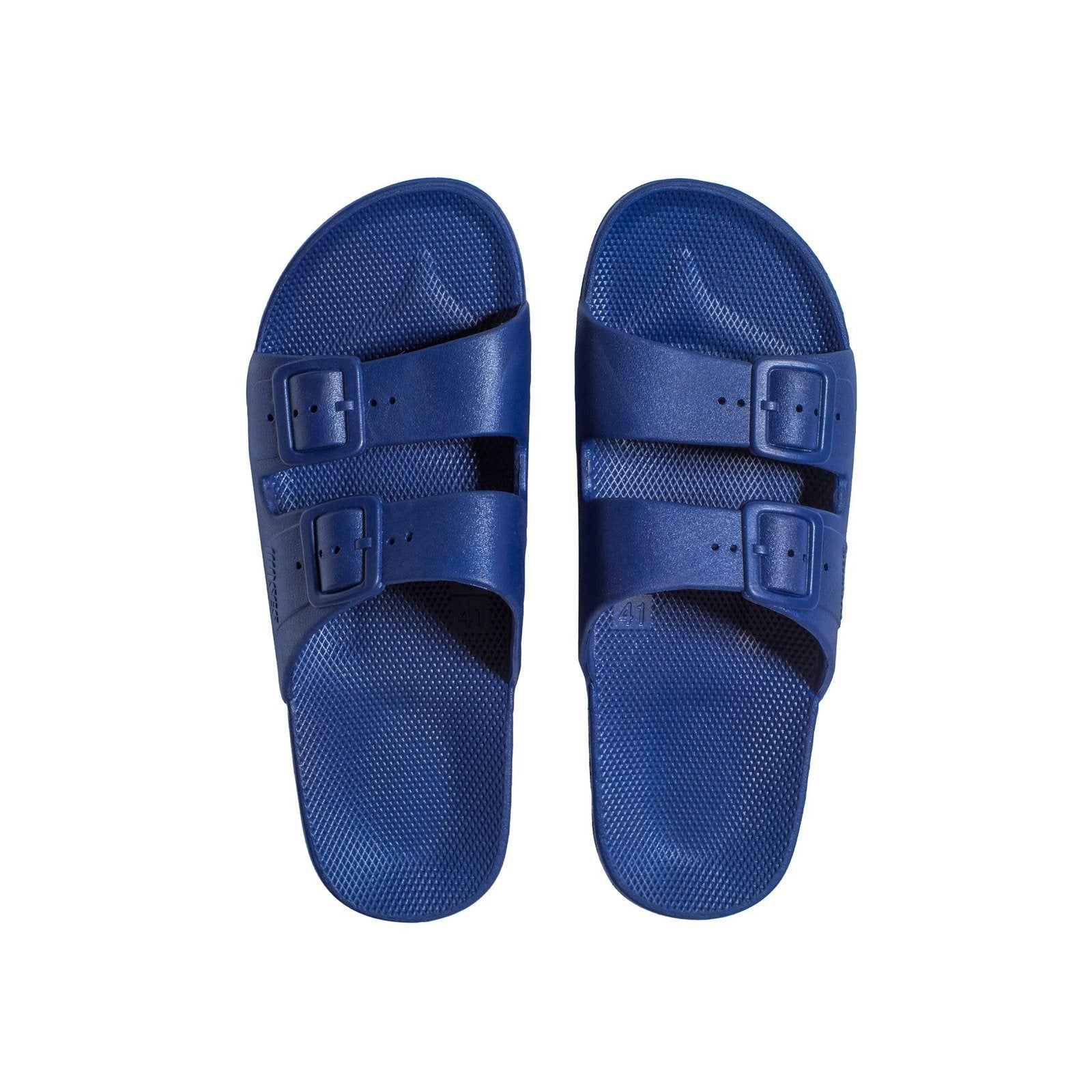 FREEDOM MOSES - FREEDOM SLIPPER IN NAVY (KIDS)