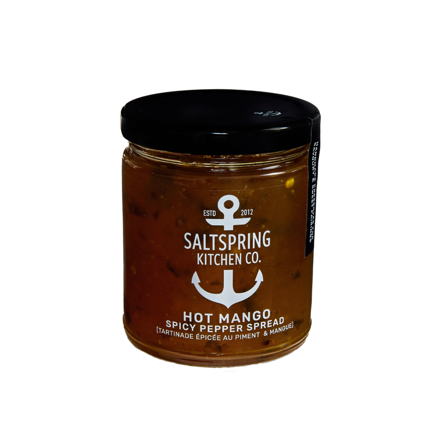 SALT SPRING KITCHEN - HOT MANGO SPICY PEPPER SPREAD