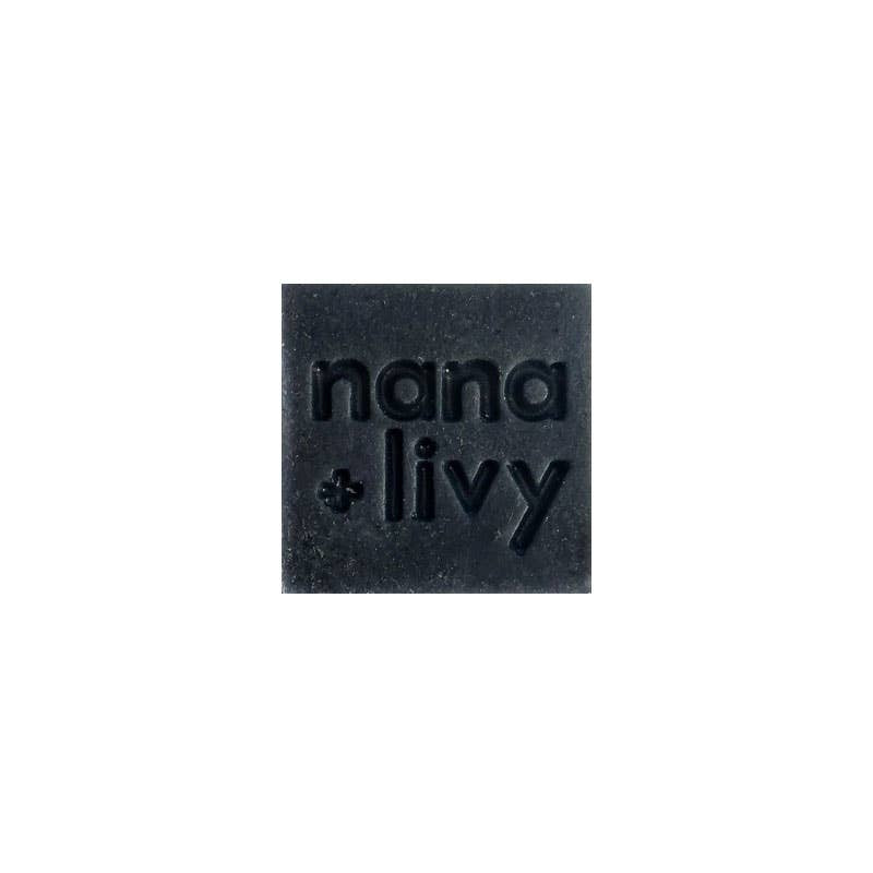 NANA + LIVY - NO 9 CHARCOAL SOAP BLOCK