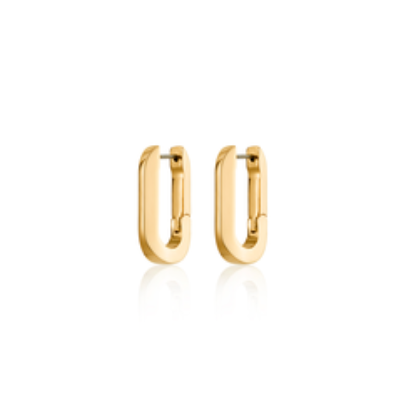 JENNY BIRD - U-LINK EARRING IN GOLD
