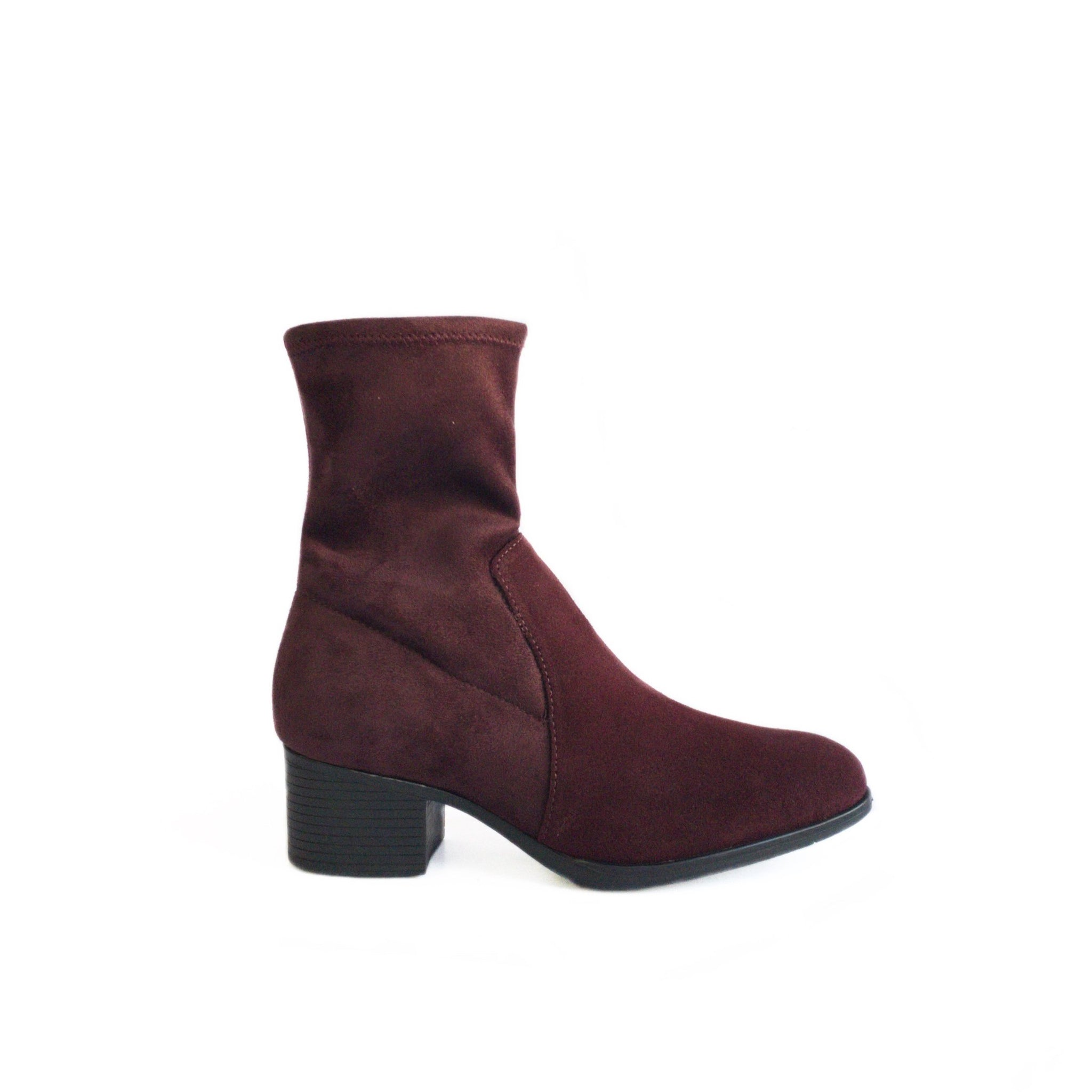 BOS & CO - RETAIN IN MERLOT SUEDE