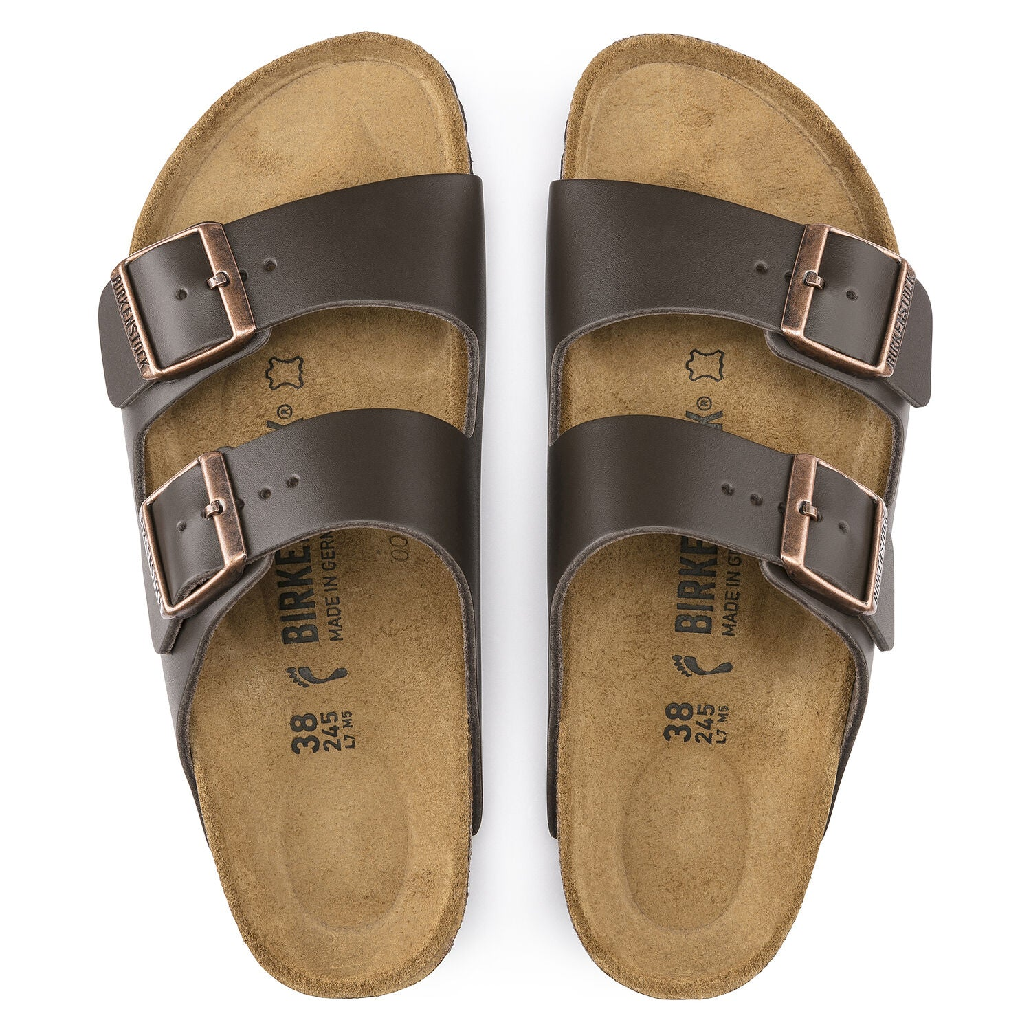 BIRKENSTOCK - ARIZONA IN DARK BROWN