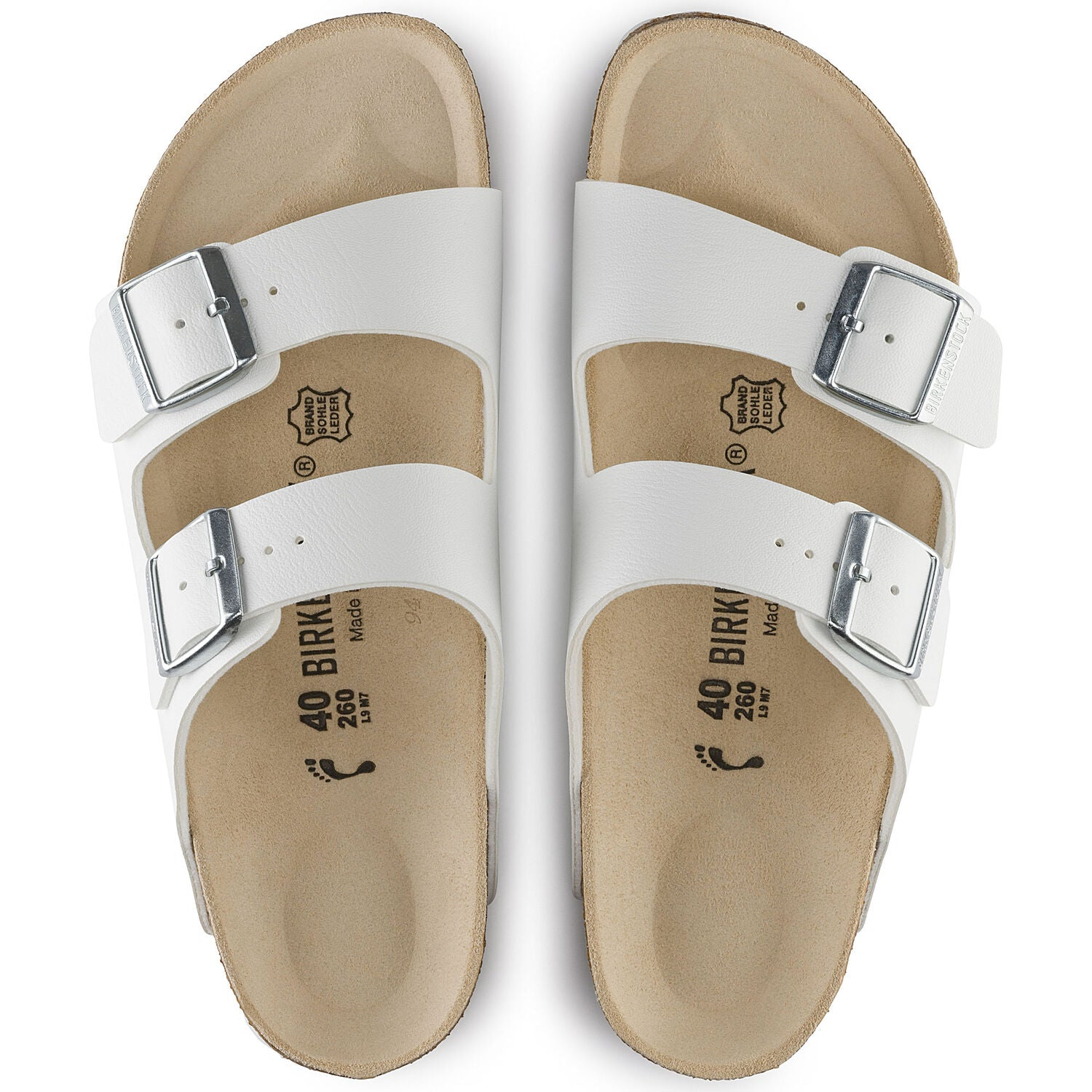 BIRKENSTOCK - ARIZONA IN WHITE
