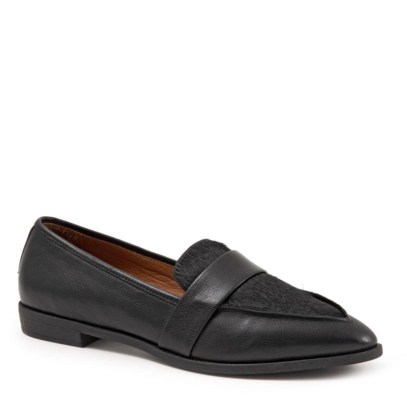 BUENO - BARNES IN BLACK LEATHER/BLACK PONY