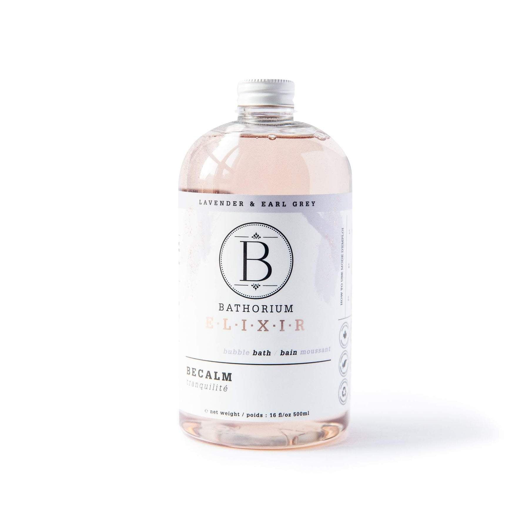 BATHORIUM - BECALM BUBBLE ELIXIR 500ML