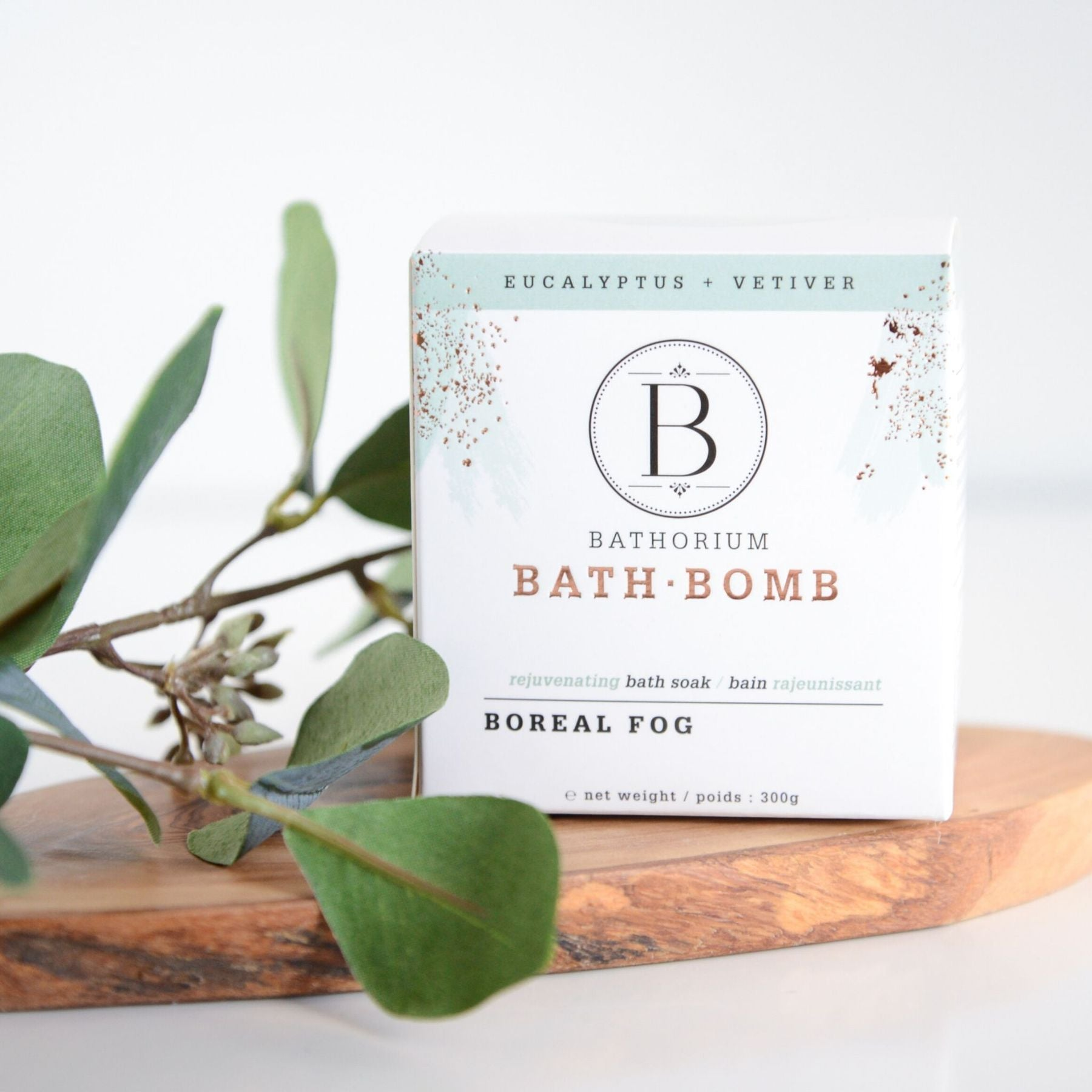 BATHORIUM - BATH BOMB BOREAL FOG
