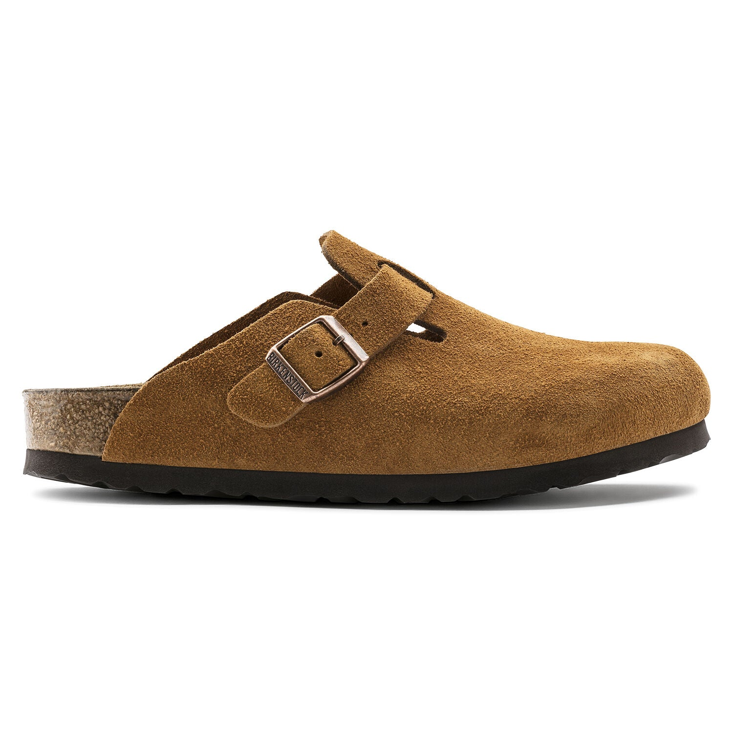 BIRKENSTOCK - BOSTON IN MINK SUEDE