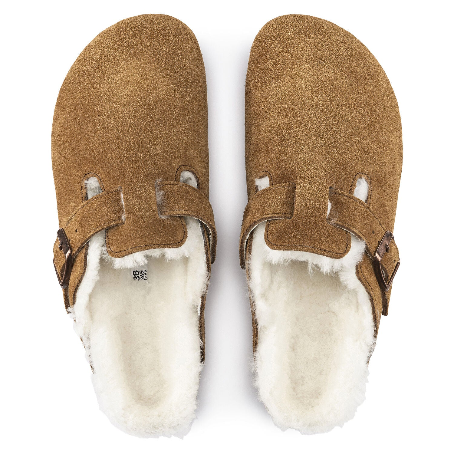 BIRKENSTOCK - BOSTON SHEARLING IN MINK