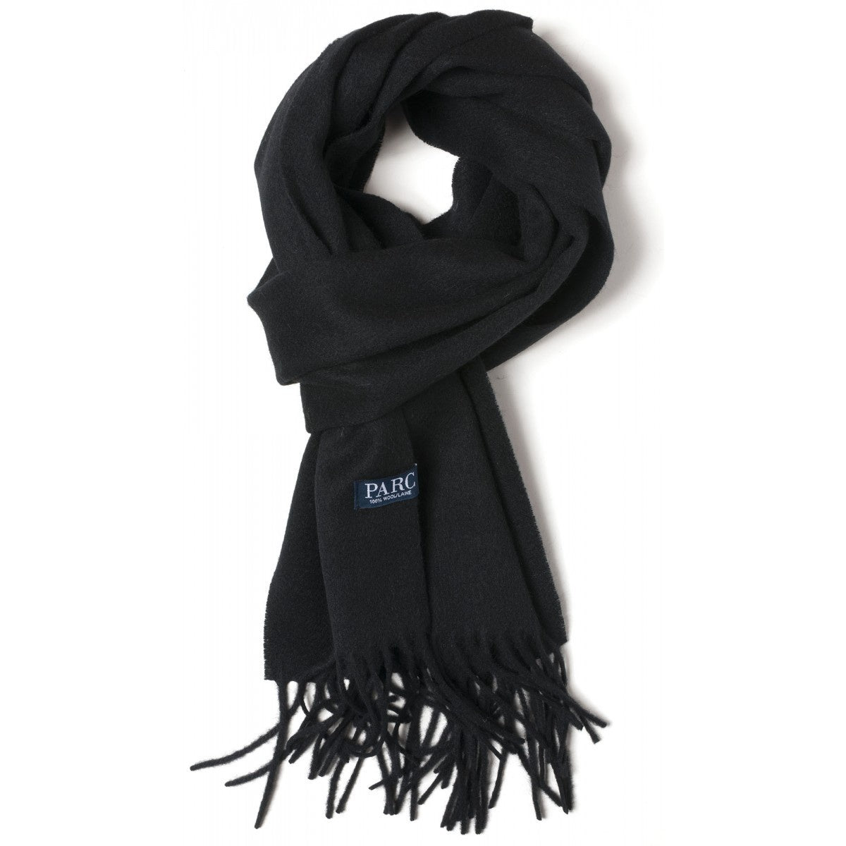 Parc City Boot Co. - Heavy Wool Scarf in Black Solid