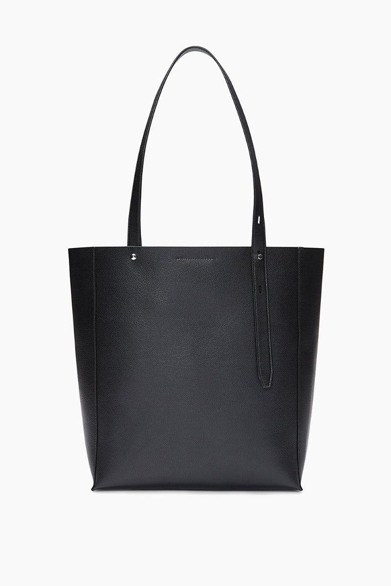 REBECCA MINKOFF - STELLA NORTH SOUTH TOTE IN BLACK