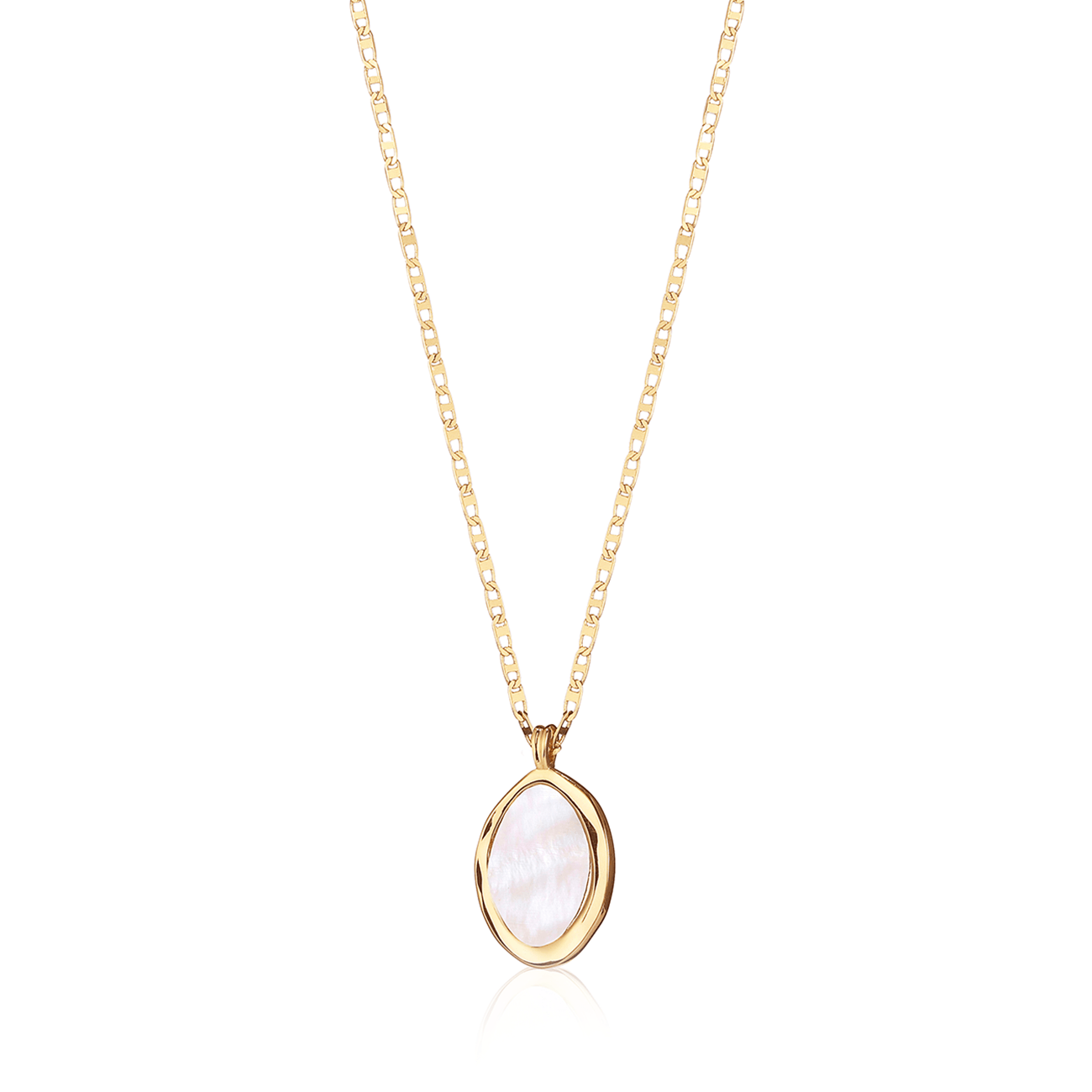 JENNY BIRD - ISLA PENDANT IN HIGH POLISH GOLD