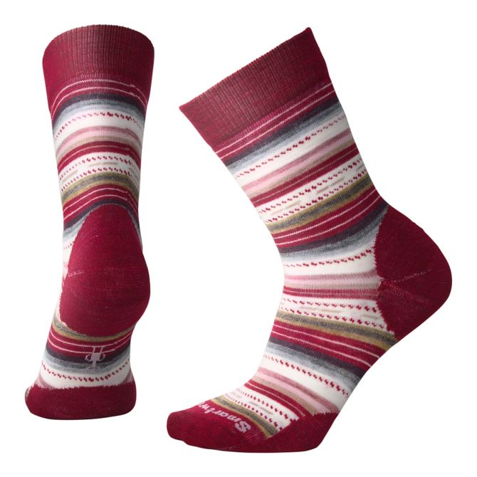 SMARTWOOL - MARGARITA IN TIBETAN RED HEATHER