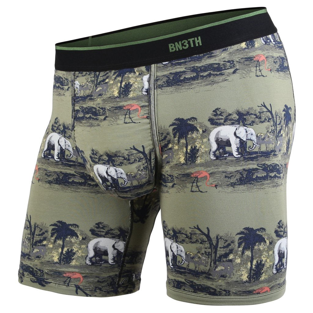 BN3TH - CLASSIC BOXER BRIEF PRINT SAVANNAH GREEN