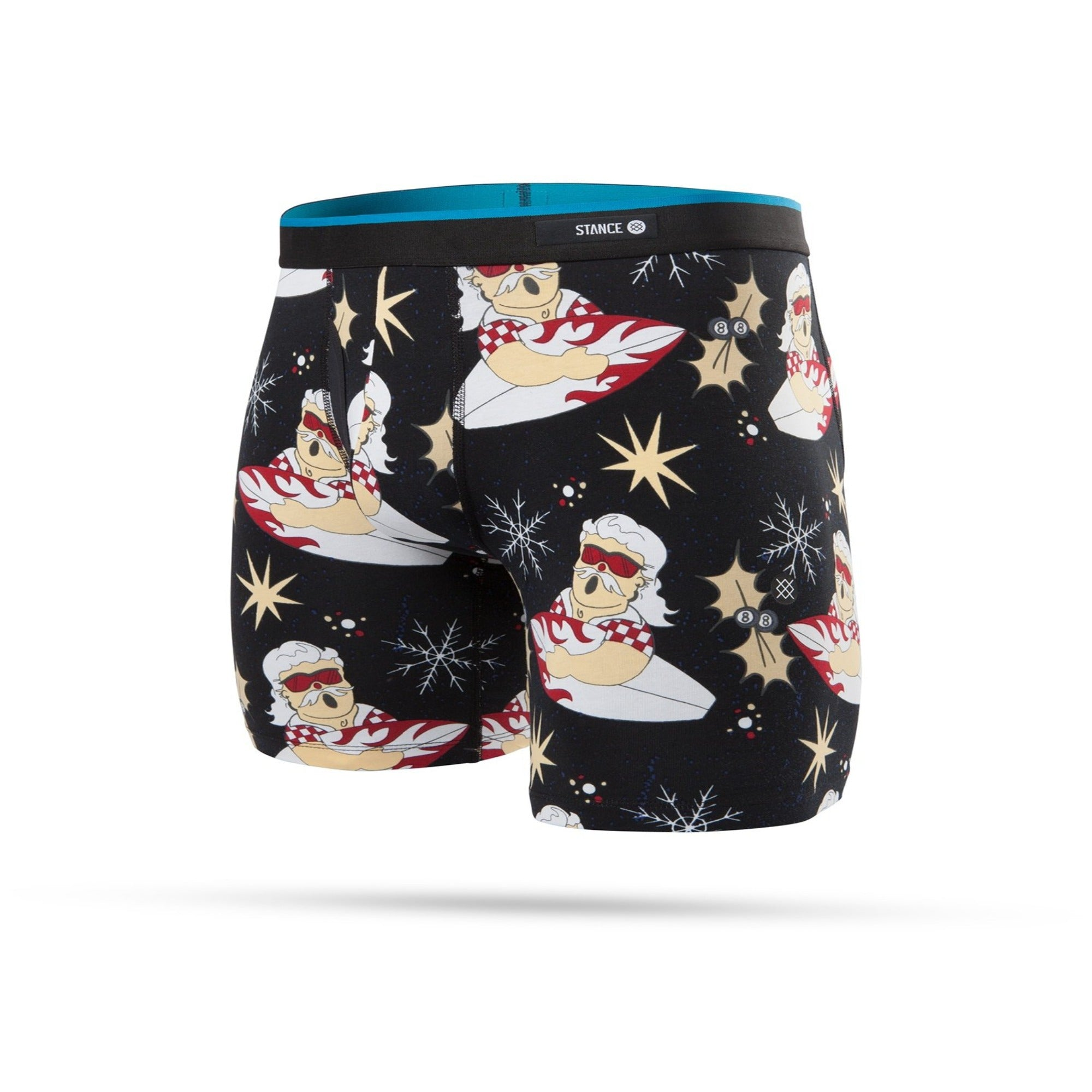 STANCE - MENS SURFIN' SANTA  BOXER BRIEF