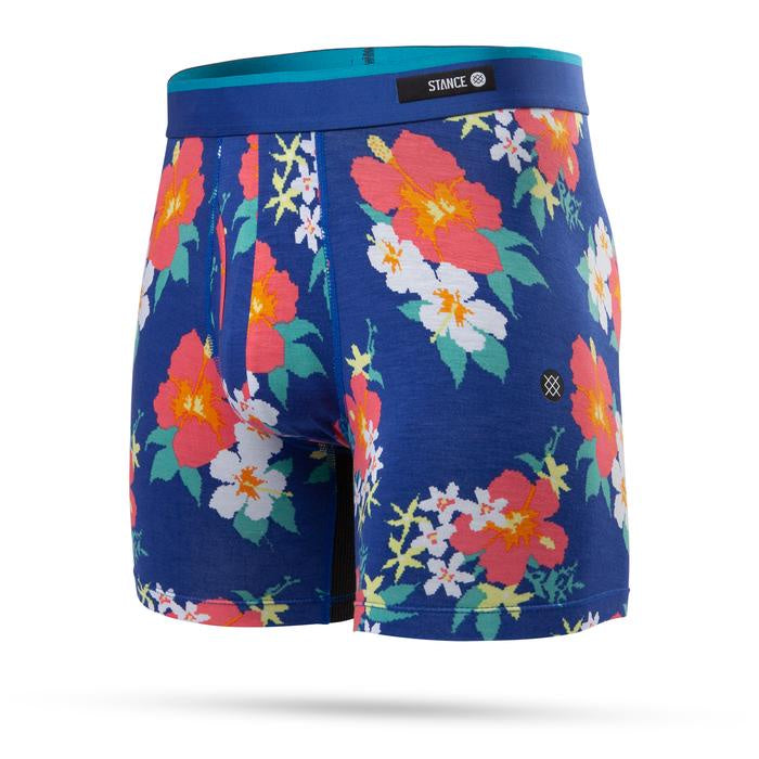 STANCE - MENS DIGIFLOR BLUE BOXER BRIEF