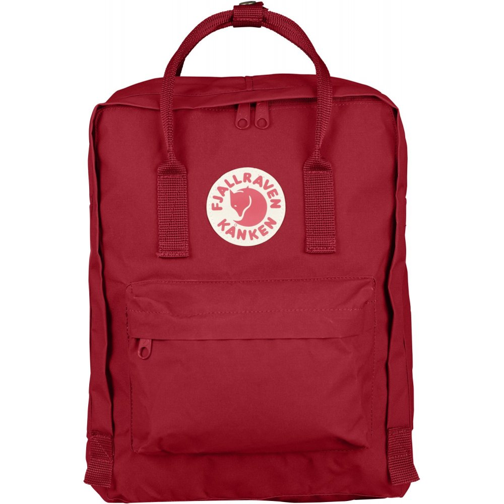 FJALLRAVEN - KANKEN BACKPACK IN DEEP RED