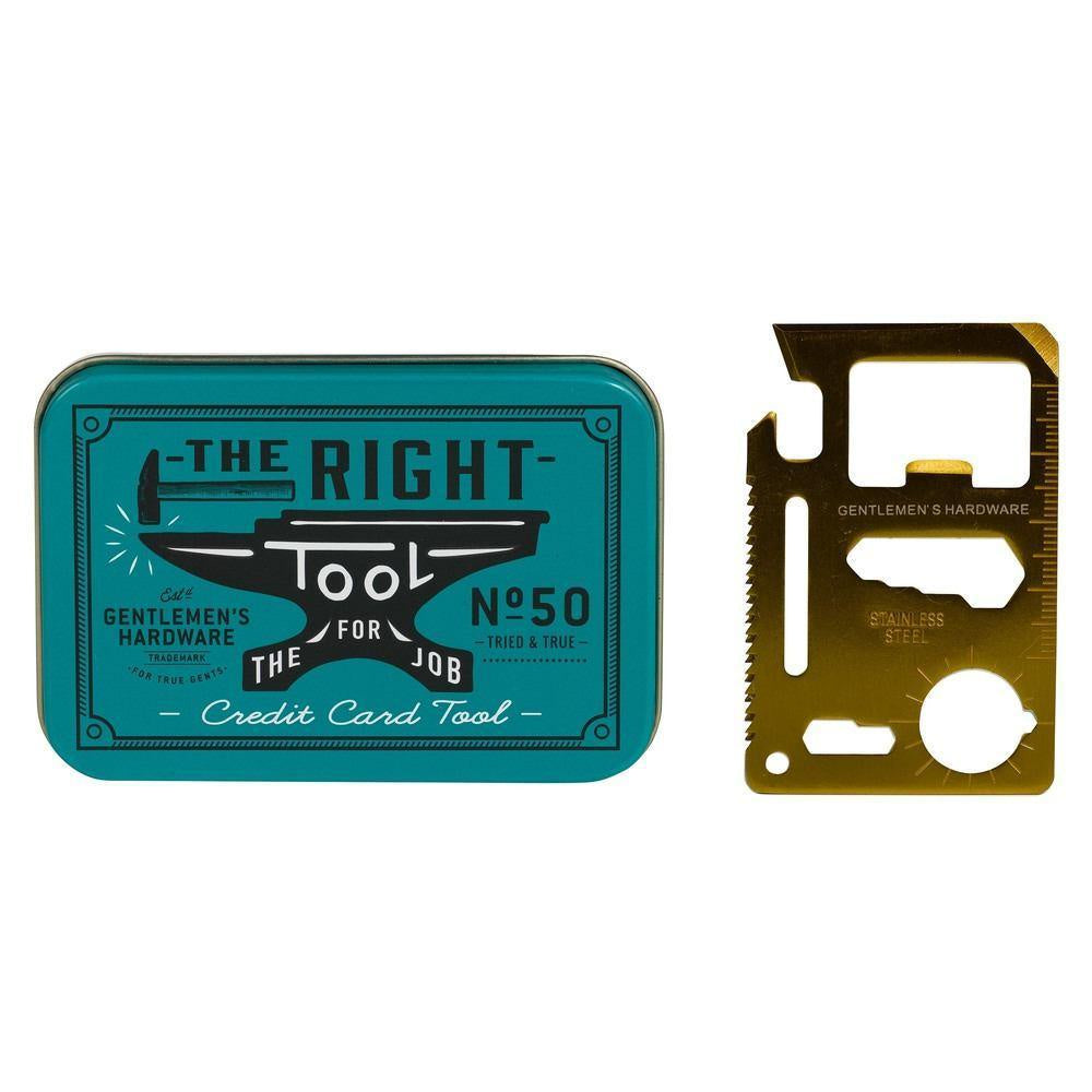 GENTLEMEN'S HARDWARE - CREDIT CARD TOOL