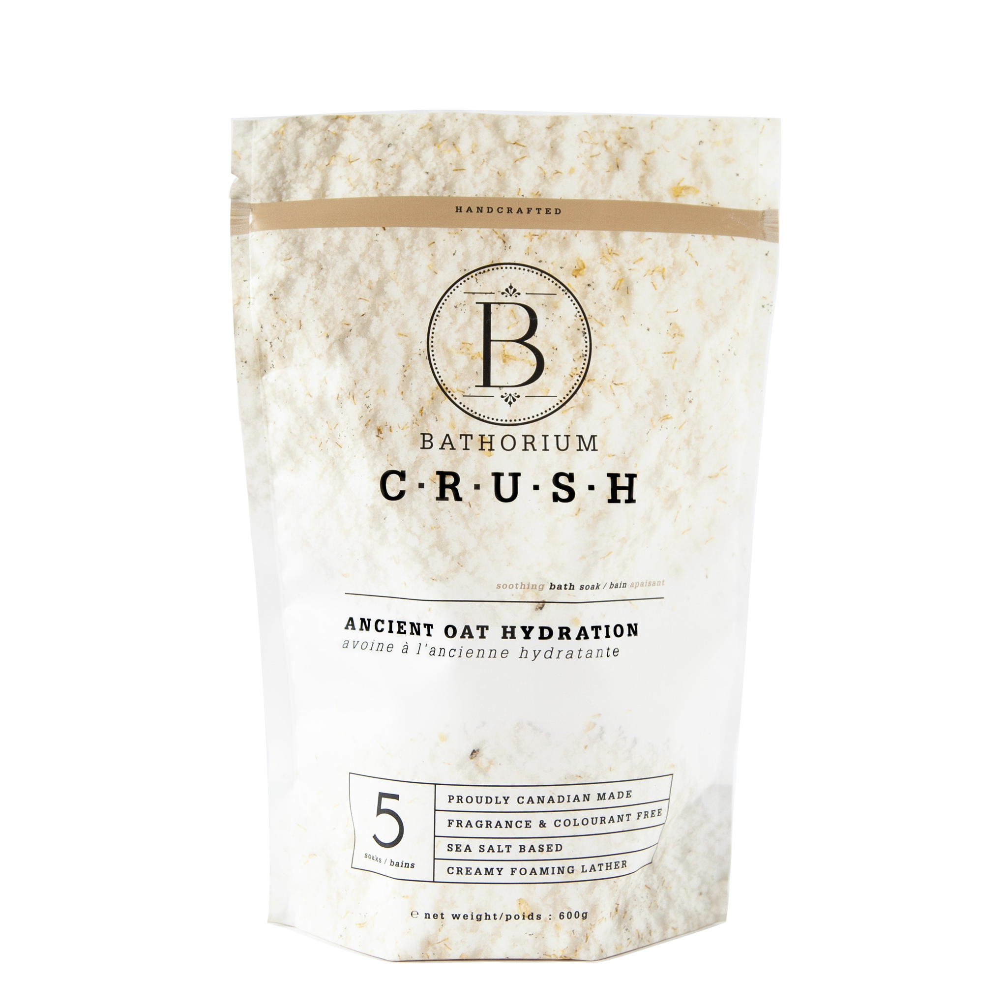 BATHORIUM - CRUSH ANCIENT OAT HYDRATION 600G