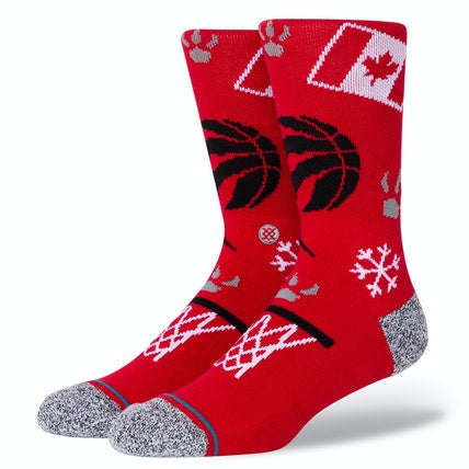STANCE - NBA RAPTORS LANDMARK RED