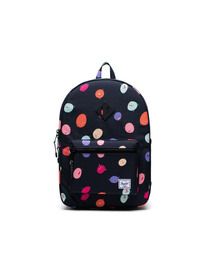 HERSCHEL - HERITAGE YOUTH XL BACKPACK IN POLKA PEOPLE