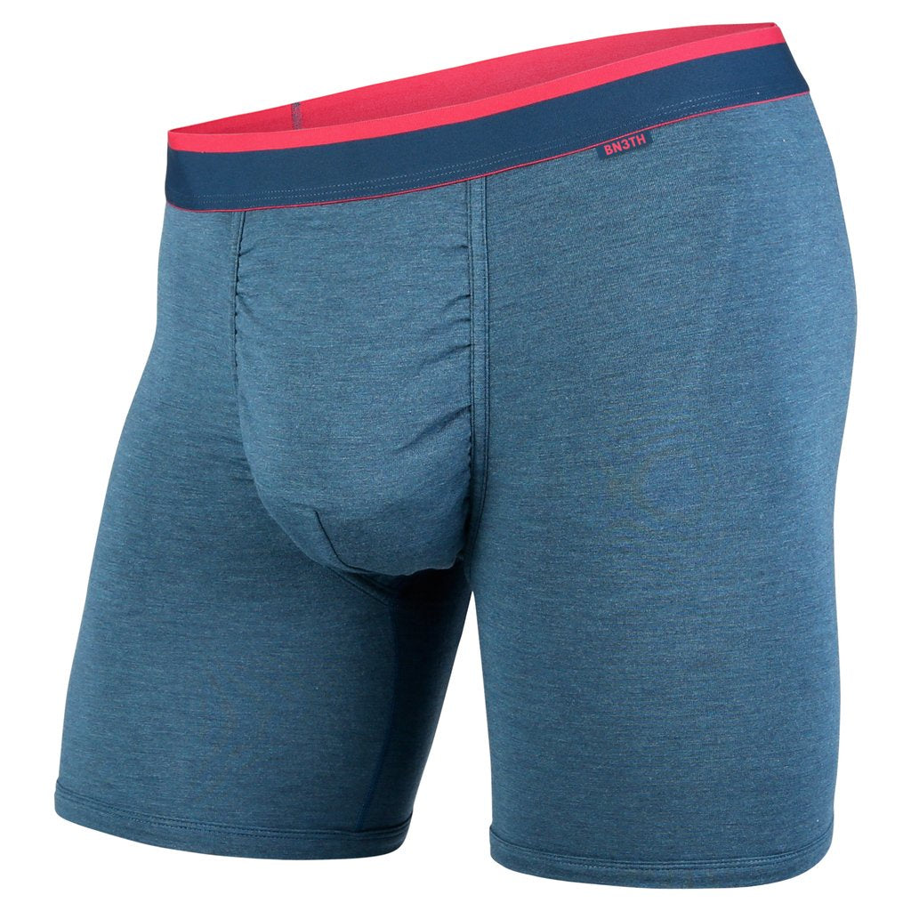 BN3TH - CLASSICS BOXER BRIEF - INK HEATHER/PINK