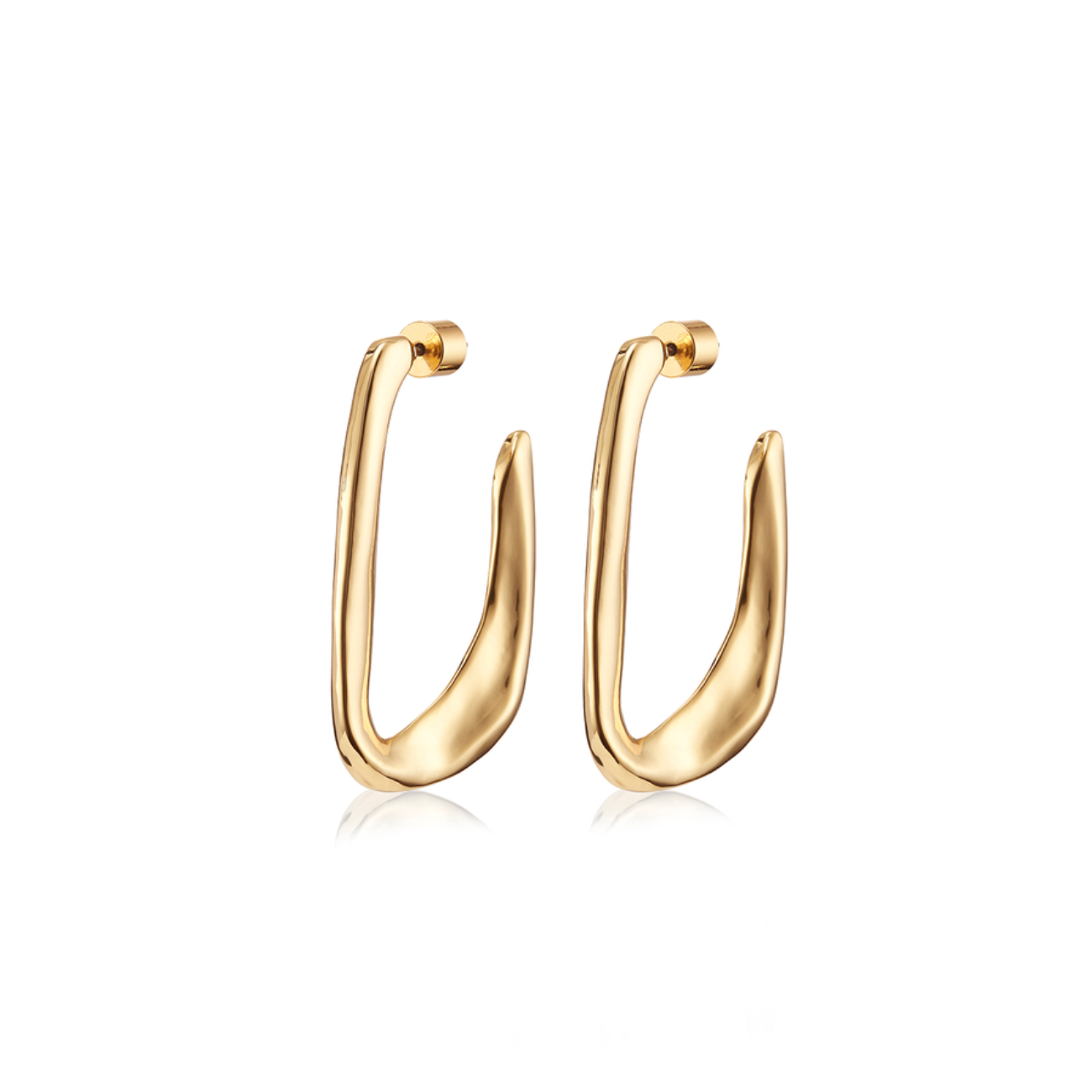 JENNY BIRD - EDITH HOOPS IN GOLD
