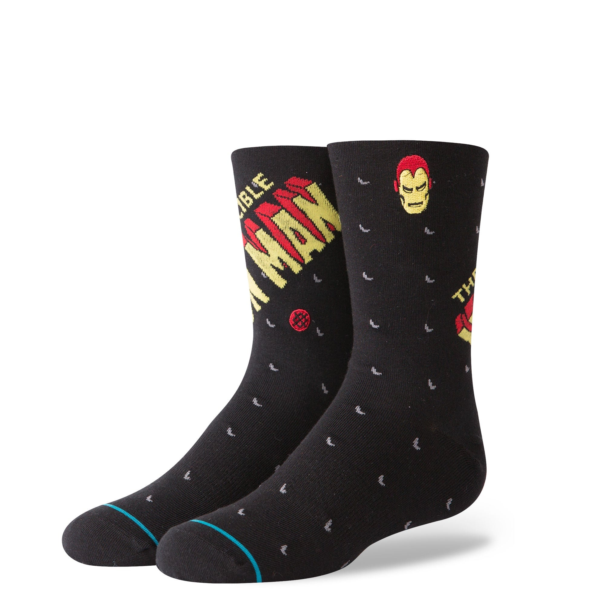 STANCE - BOYS MARVEL INVINCIBLE IRONMAN IN BLACK