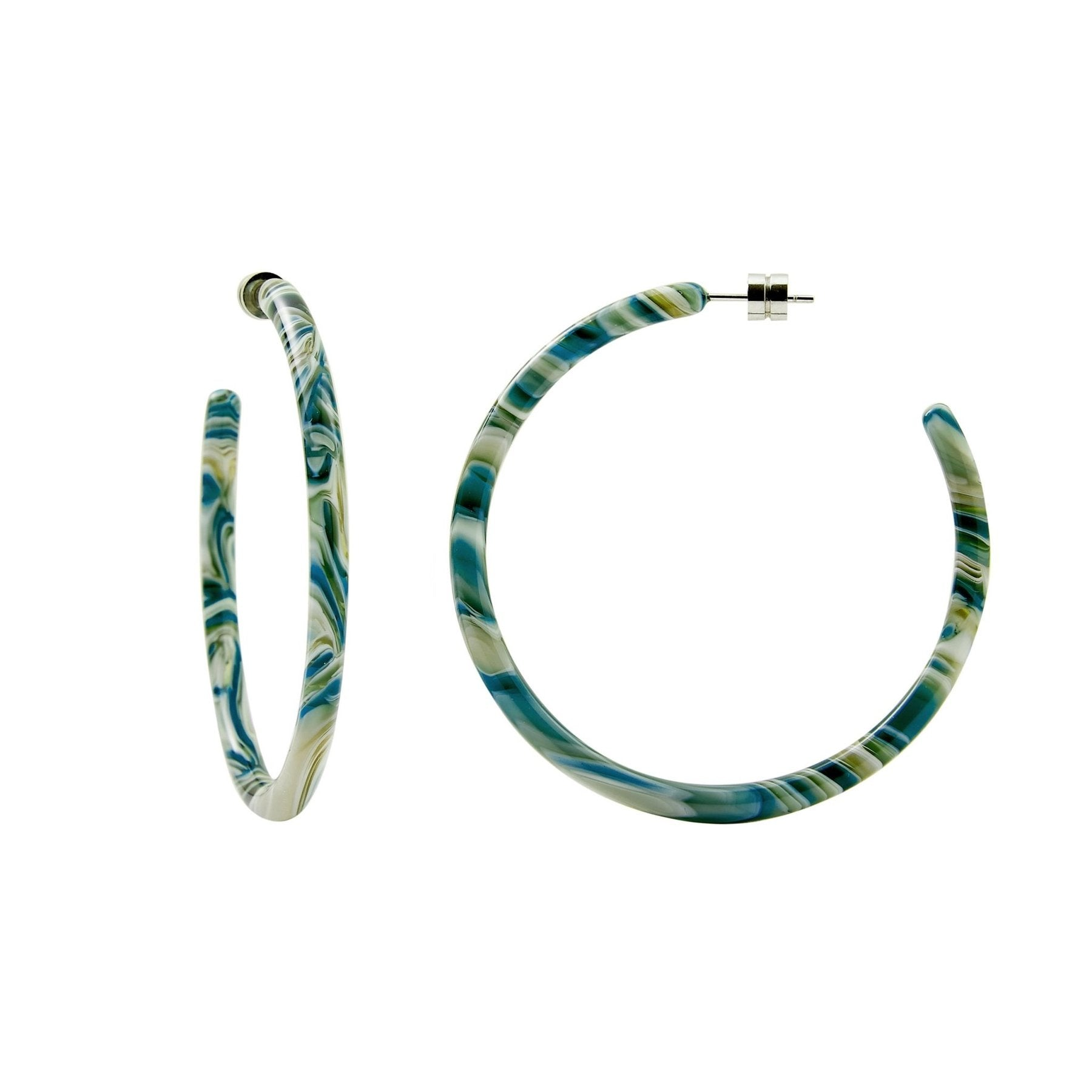 MACHETE - LARGE HOOPS IN STROMANTHE