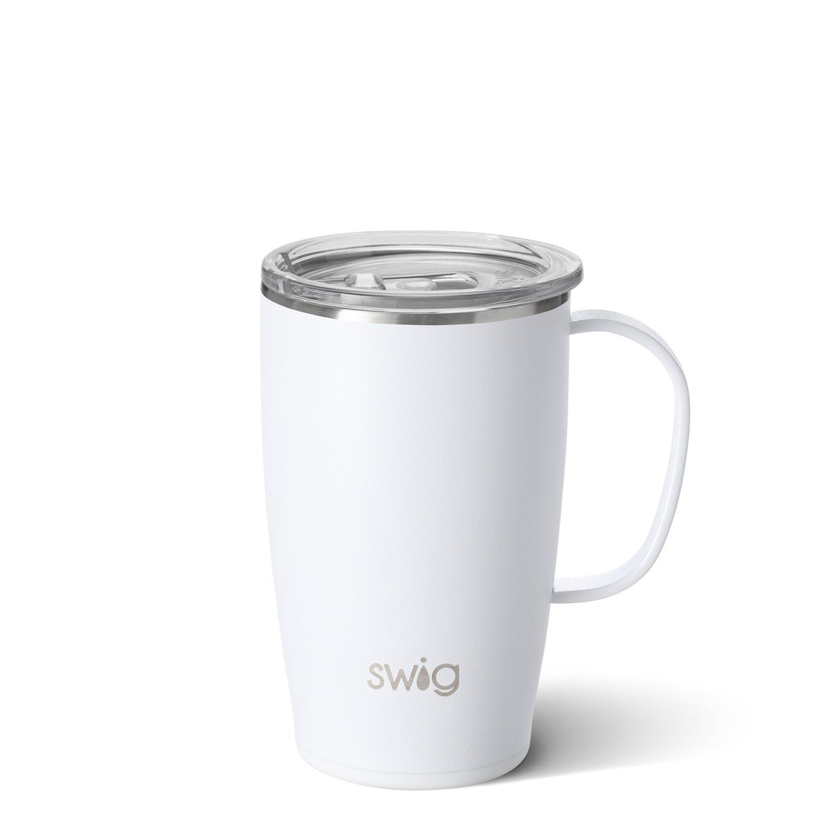 SWIG - 18 OZ MUG IN MATTE WHITE