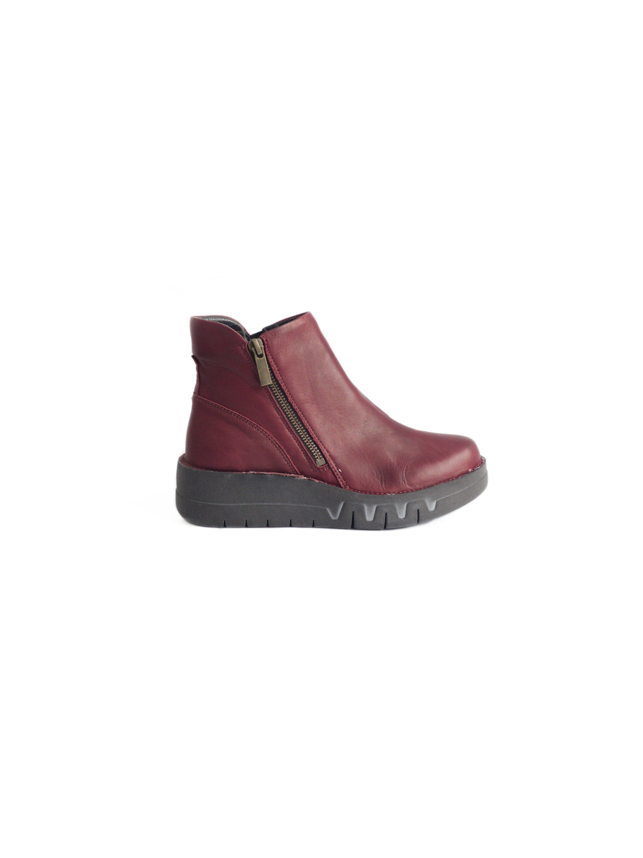 MIZ MOOZ - LASS IN BORDEAUX LEATHER