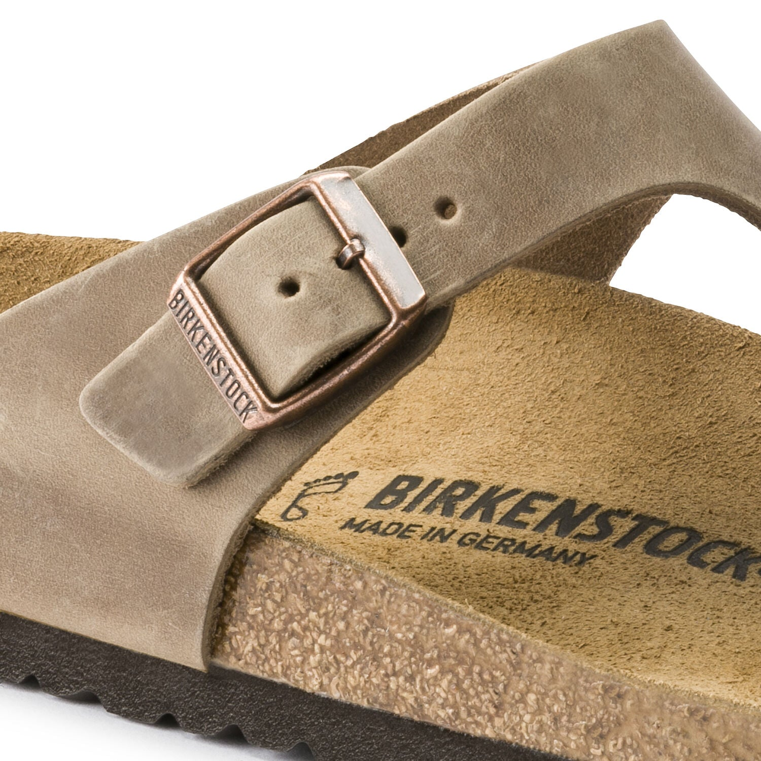 BIRKENSTOCK - GIZEH IN TOBACCO BROWN