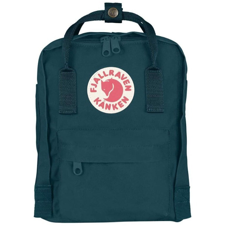 FJALLRAVEN - KANKEN MINI BACKPACK IN GLACIER GREEN