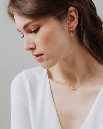 LOVER'S TEMPO - HARLOWE HOOP EARRING IN GOLD