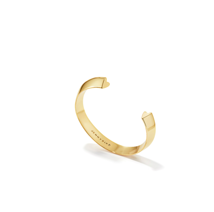 JENNY BIRD - HIDDEN HEART BANGLE IN GOLD