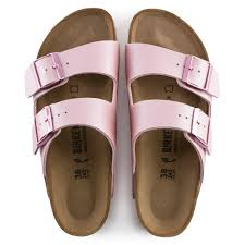 BIRKENSTOCK - ARIZONA IN ICY METALLIC OLD ROSE